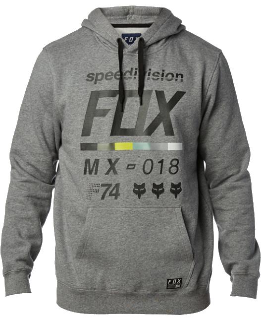 Mikina Fox District 2 heather graphite M