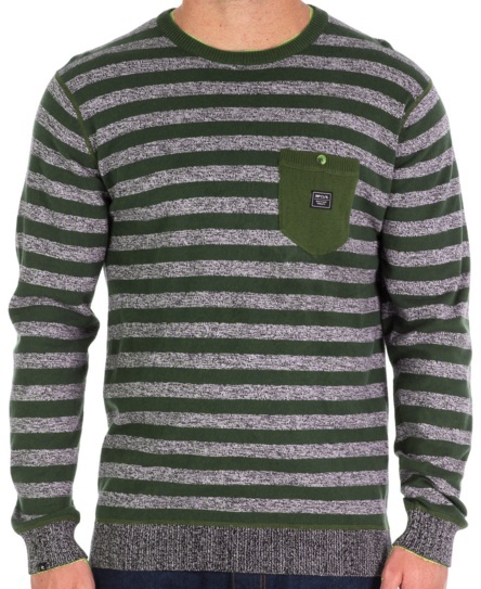 Svetr Rip Curl Twisted olive night XL