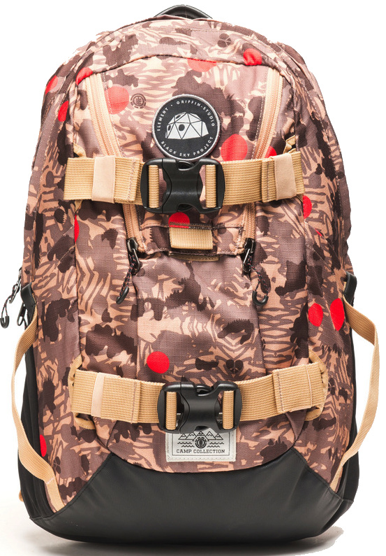 Batoh Element The Daily canyon khaki 25l