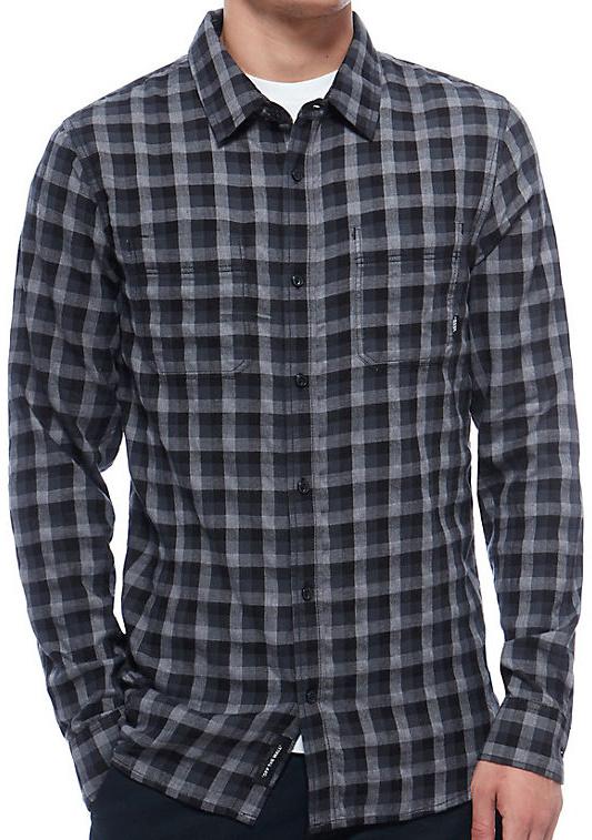 Košile Vans Alameda black-new charcoal XL