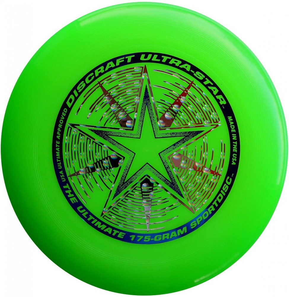 Frisbee Discraft Ultimate Ultra-star green
