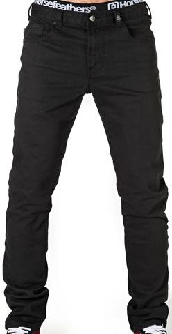 Kalhoty Horsefeathers Nate black 28