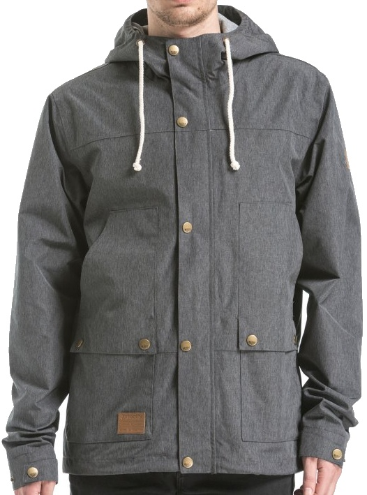 Bunda Meatfly Ned heather grey L