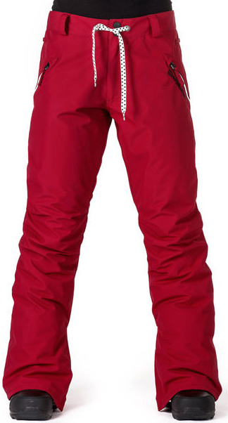 Kalhoty Horsefeathers Shirley persian red 28