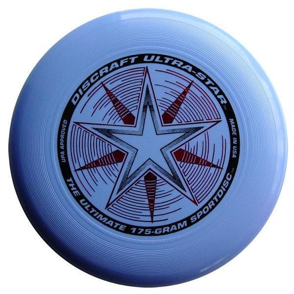 Frisbee Discraft Ultimate Ultra-star light blue