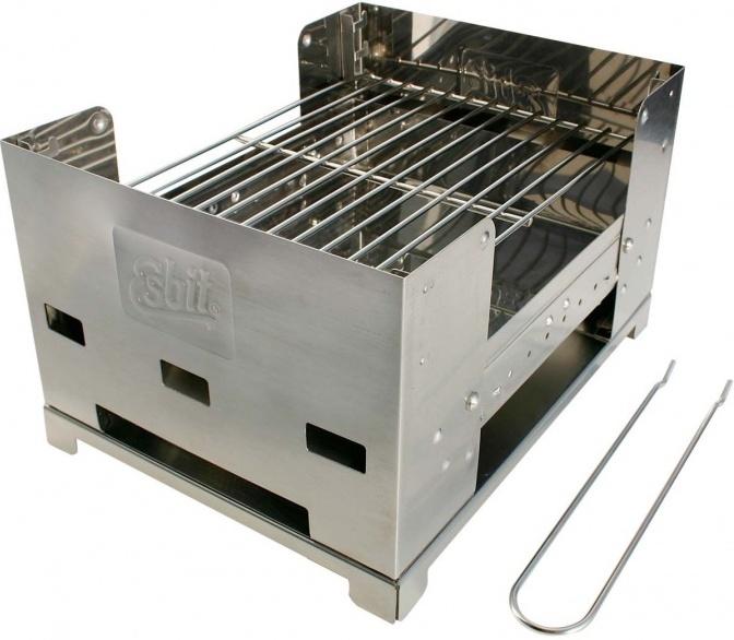 Gril Esbit BBQ300S z nerezové oceli