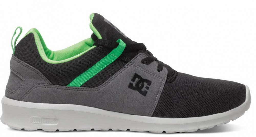 Boty DC Heathrow black-grey-green 44