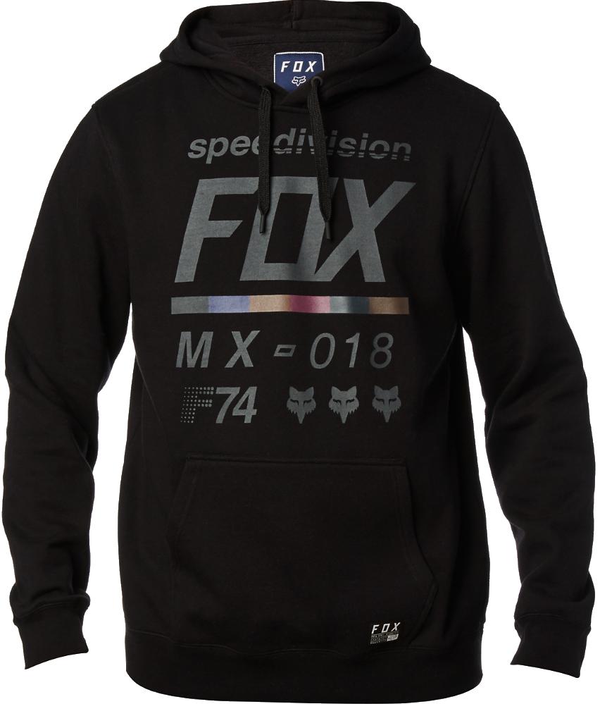 Mikina Fox District 2 black L