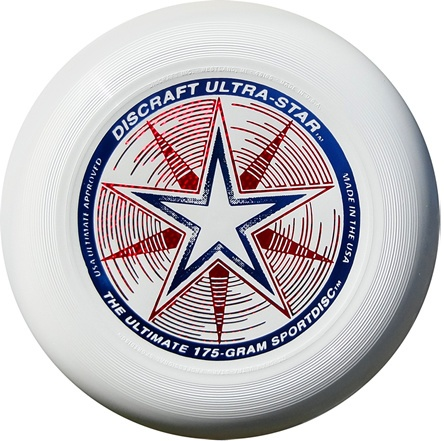 Frisbee Discraft Ultimate Ultra-star white