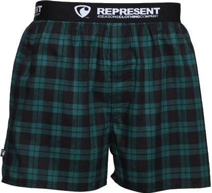Trenky Represent Mikebox 16209 green L