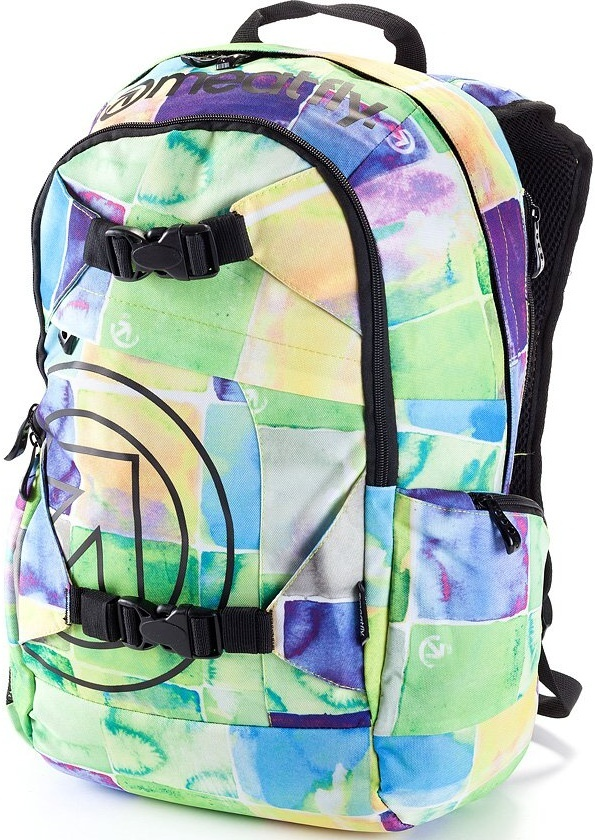 Batoh Meatfly Basejumper watter checkes yellow 20l