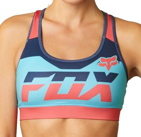Podprsenka Fox Rize Sports Bra blue atoll XL