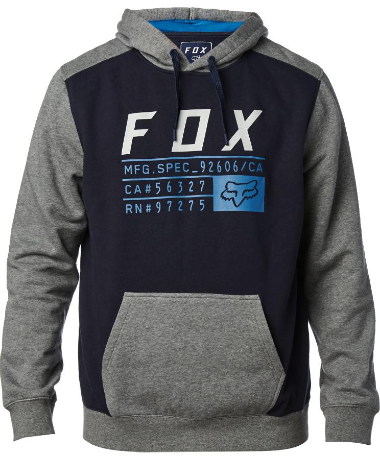 Mikina Fox District 3 midnight L
