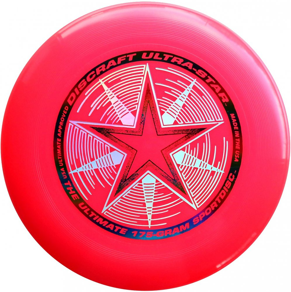 Frisbee Discraft Ultimate Ultra-star pink