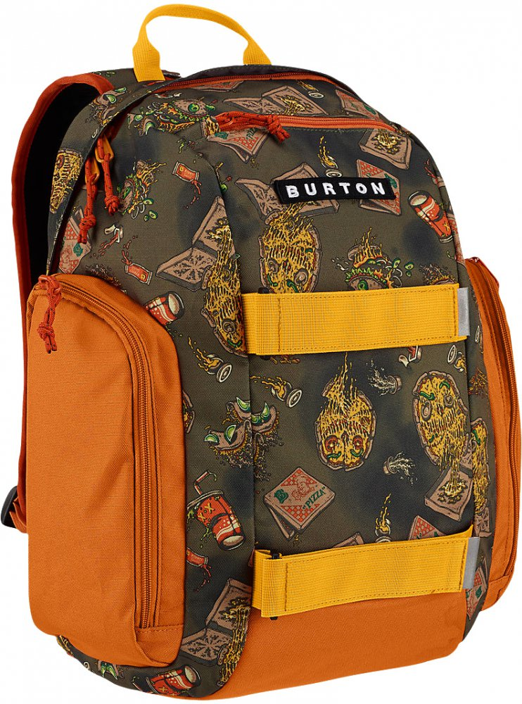 Batoh Burton Youth Metalhead junk food print 18l