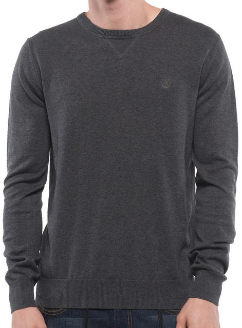 Svetr Element Crew charcoal heather L