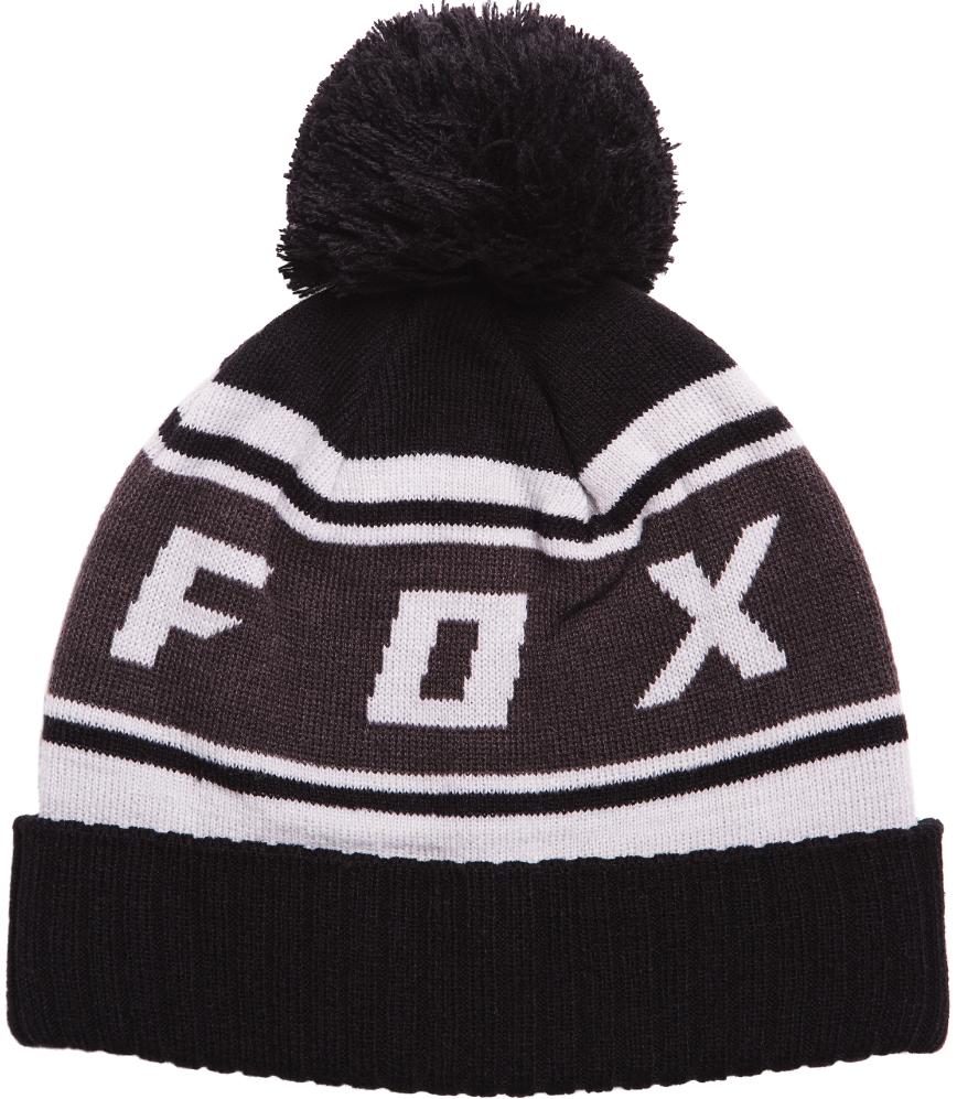 Čepice Fox Black Diamond Pom black