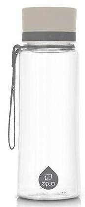 Láhev Equa plain grey 600 ml