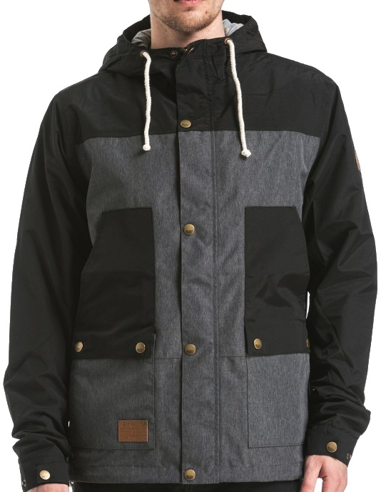 Bunda Meatfly Ned grey-black L