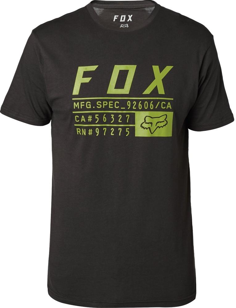 Tričko Fox Abyssmal black M