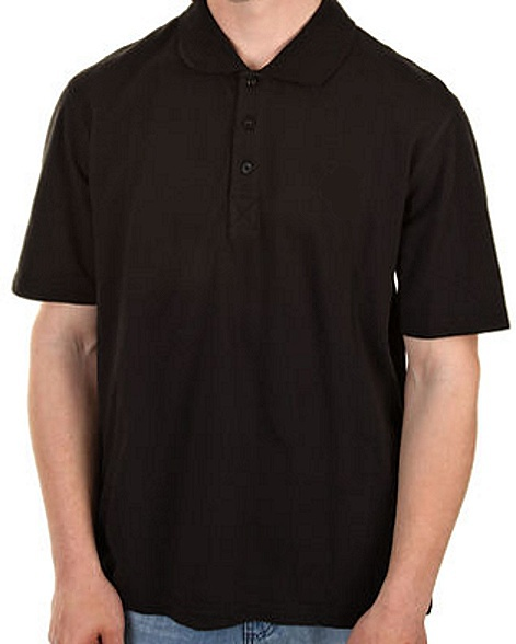 Tričko DC Staple Polo black M