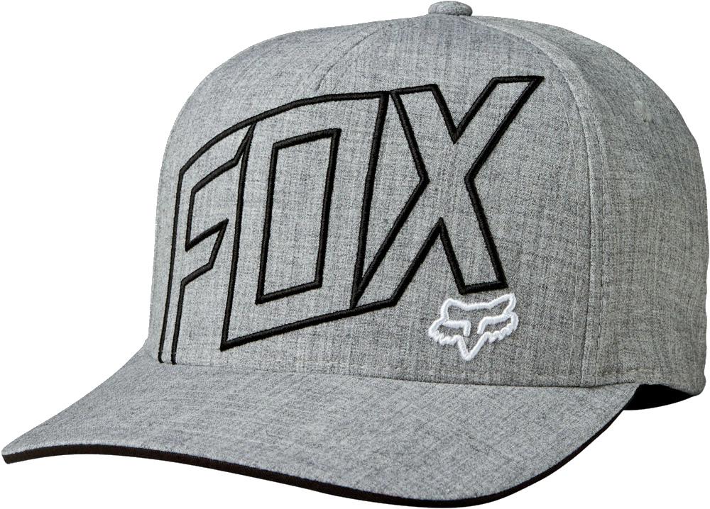 Kšiltovka Fox Three 60 Flexfit heather grey L/XL