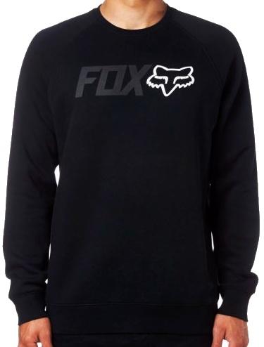 Mikina Fox Legacy Crew black L