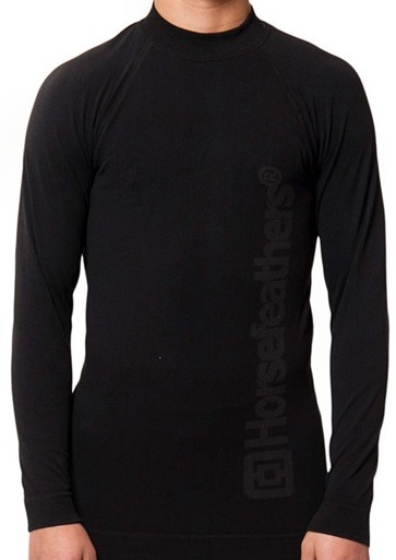 Tričko thermo Horsefeathers Result black S/M